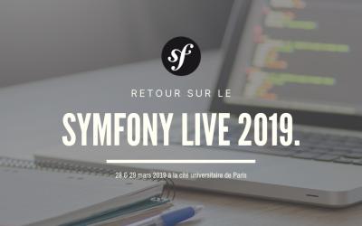 Retour sur le Symfony Live 2019 à Paris